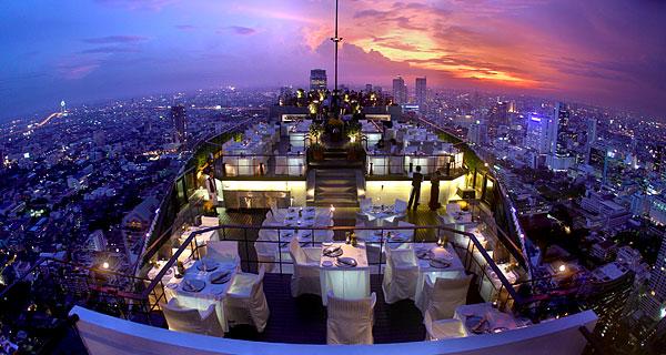 Vertigo w Bangkoku – kolacja w chmurach