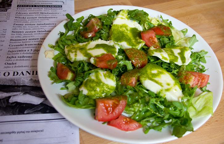 Śniadaniownia talerz włoski