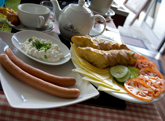 Cafe du Monde sniadanie