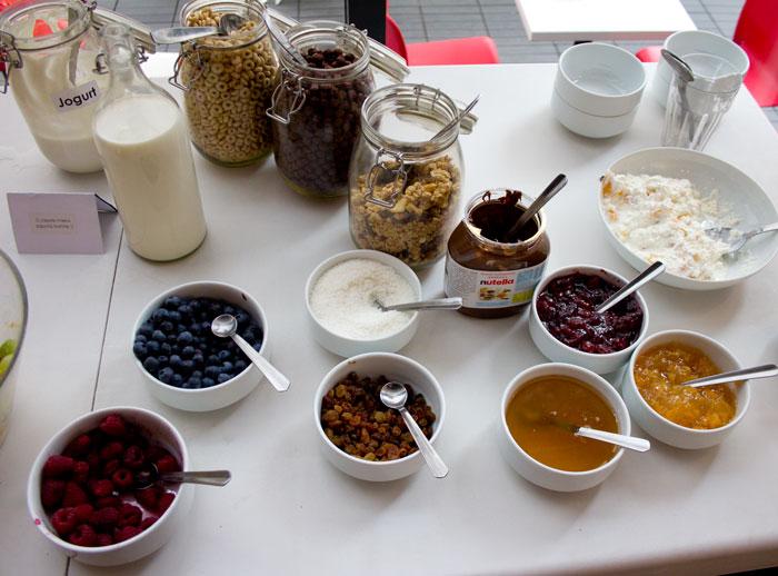 Mito bufet śniadaniowy