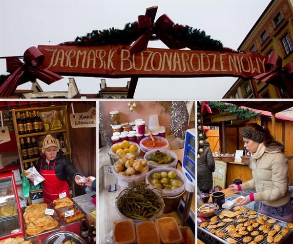 Jarmark Świąteczny w Warszawie
