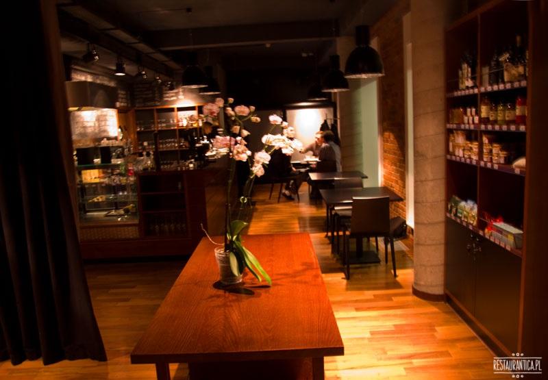 Kafe Zielony Niedźwiedź wnętrze