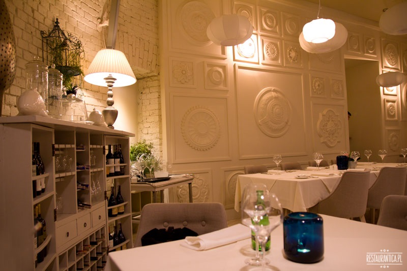 Strefa restauracja & bar wnętrze
