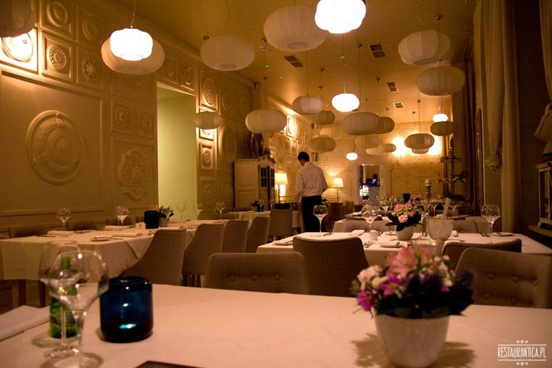 Strefa restauracja wnętrze