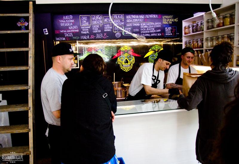 Gringo Bar wnętrze