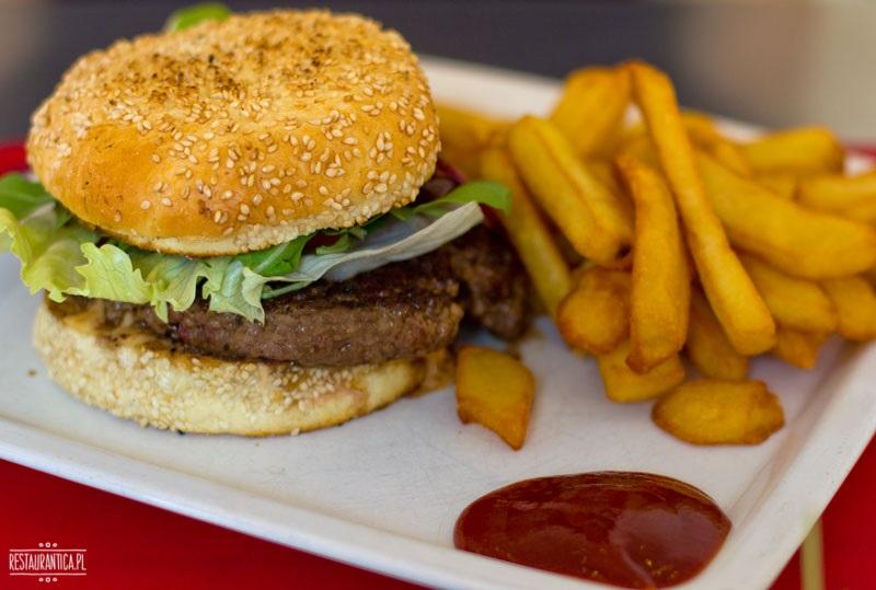 Wild Beef burger