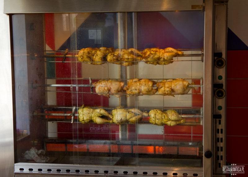 Kurczaki rożen