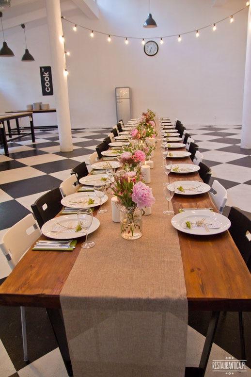 Top Chef kolacja stół