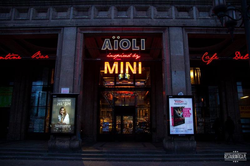 Aioli inspired by Mini zewnątrz
