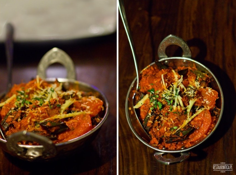 Curry House okra