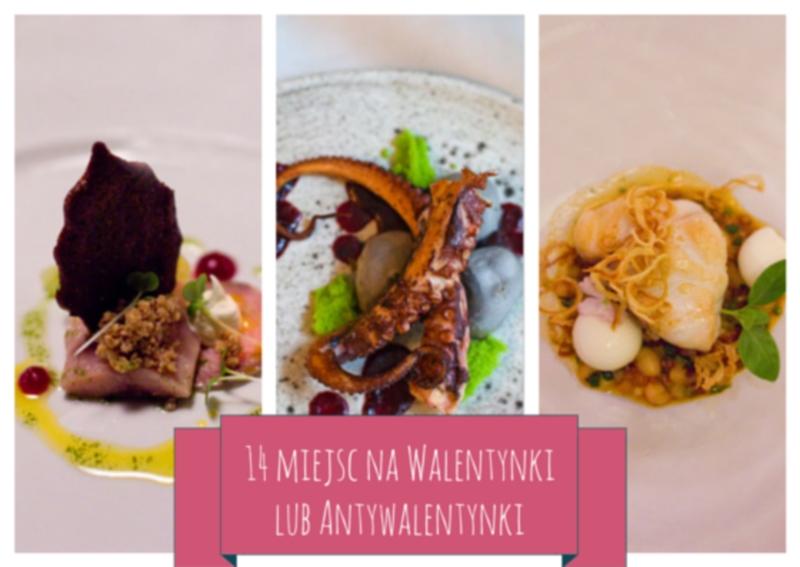 Restauracje na Walentynki 2014