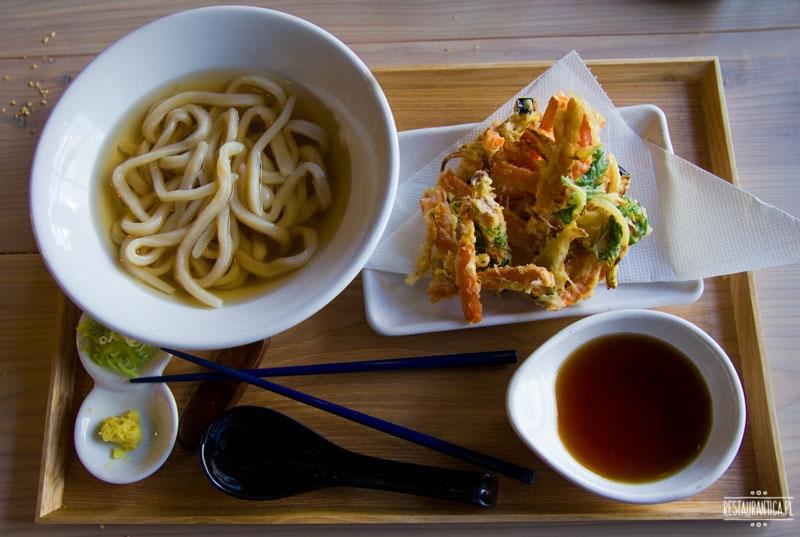 Uki Uki udon tempura