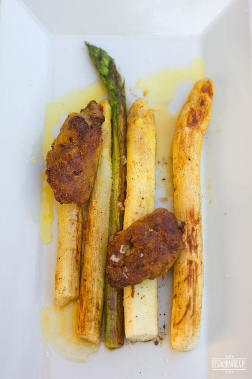 Z57 foie gras szparagi