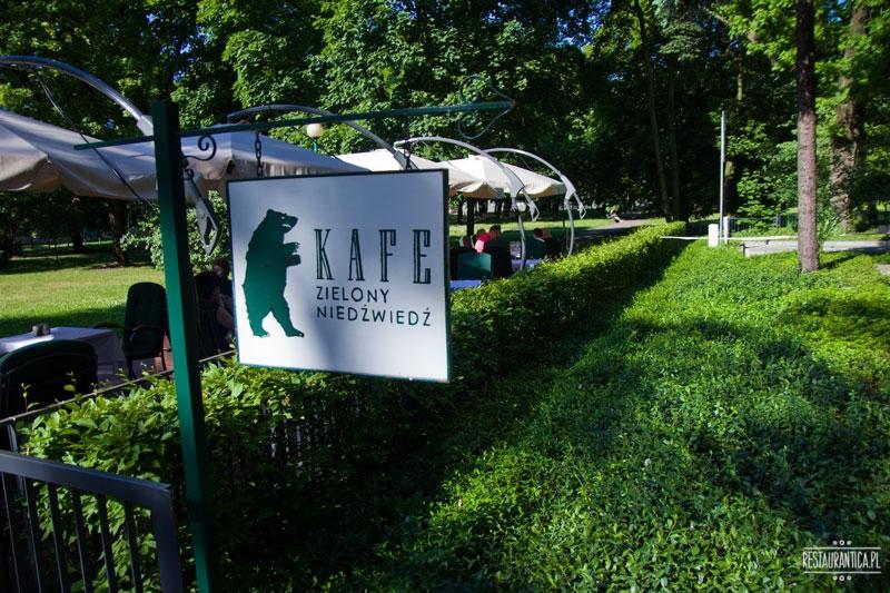 Kafe Zielony Niedzwiedz logo