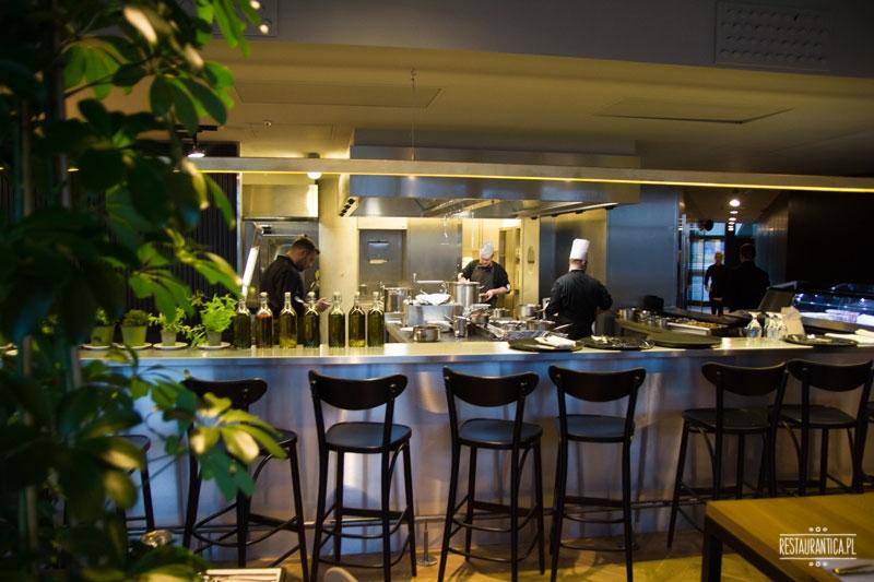 Kuchnia otwarta wnetrze wilanów