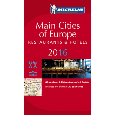 Michelin main cities of europe 2016