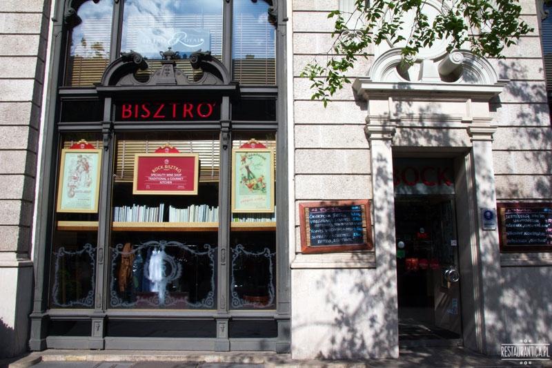 Bock Bisztro, restauracja, z zewnątrz, Budapeszt