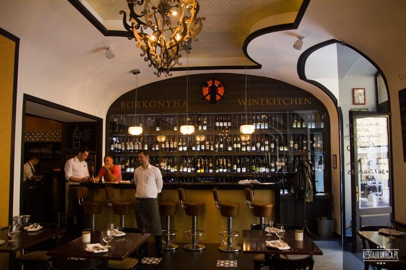 Borkonyha, Budapeszt, restauracja, winebar, wina, gwiazdka Michelin
