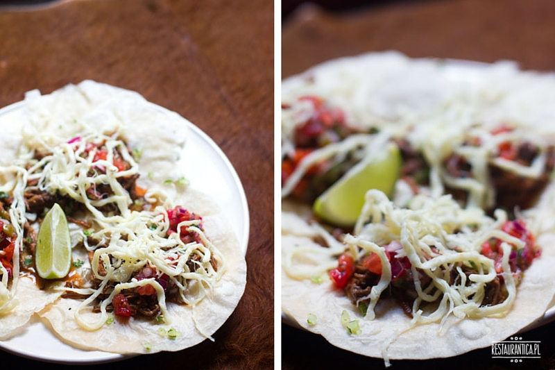 La Sirena Mexican Food Cartel, Piękna, shredded beef, Warszawak, kuchnia meksykańska
