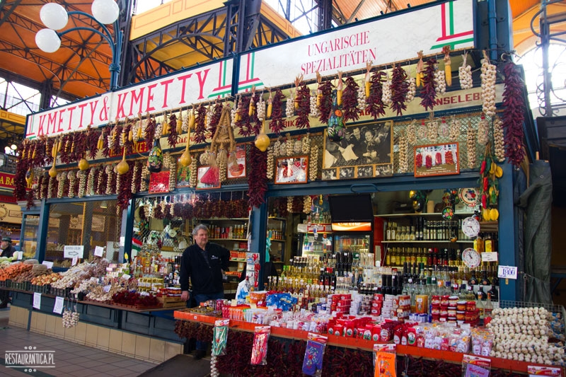 Good Food Market papryki, stoisko , Budapeszt