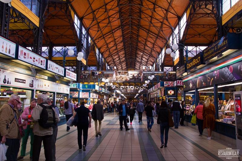 Great Food Market wnętrze, Budapeszt