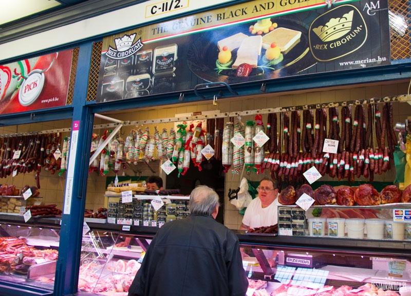 Great Food Market, Budapeszt, wędliny, mangalica