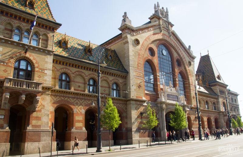 Great Food Market Budapeszt budynek z zewnątrz