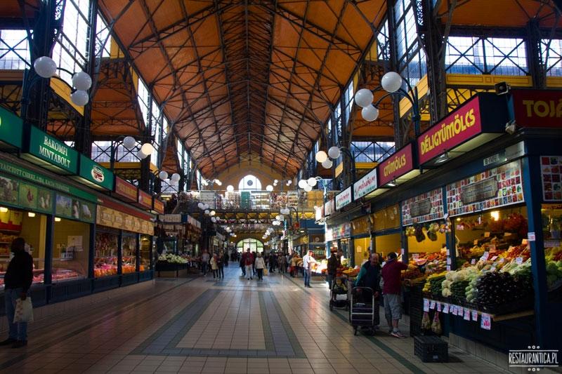 Great Food Market Budapeszt, boczna alejka