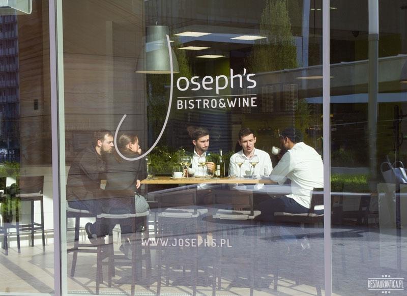 Josephs Bistro Wine, restauracja, Inflancka, winiarnia, Joseph Seelesto, Warszawa