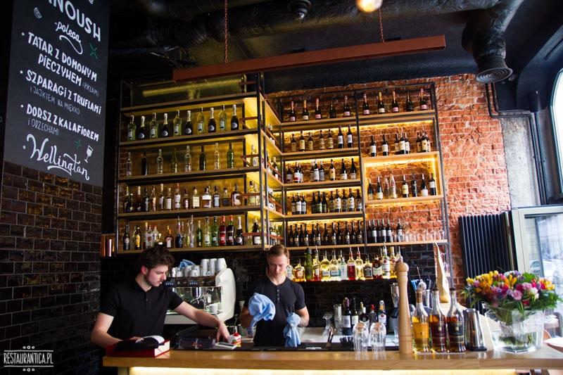 Manoush, wnętrze, Jasna, restauracja, bar