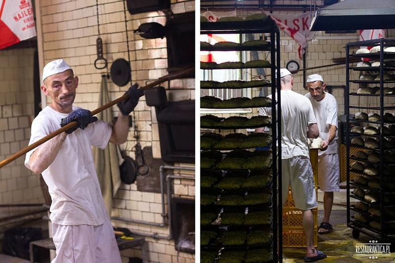 Piekarnia Piwoński, pieczenie chleba