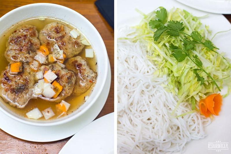 Wi-Taj, restauracja, plac KOnstytucji, Bun Cha