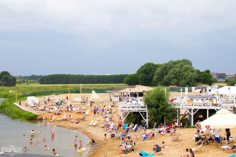 Lake Park Wilanów plaża
