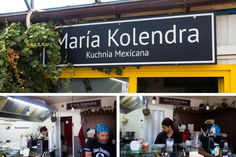 Maria Kolendra z zewnątrz, kuchnia meksykańska, Puławska, Warszawa