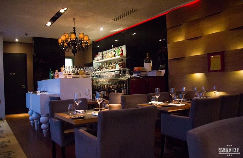 Sztuczka wnętrze, restauracja, Gdynia