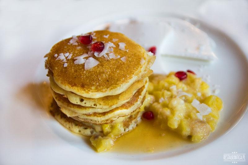Raj w Niebie, pancakes, kuchnia hawajska