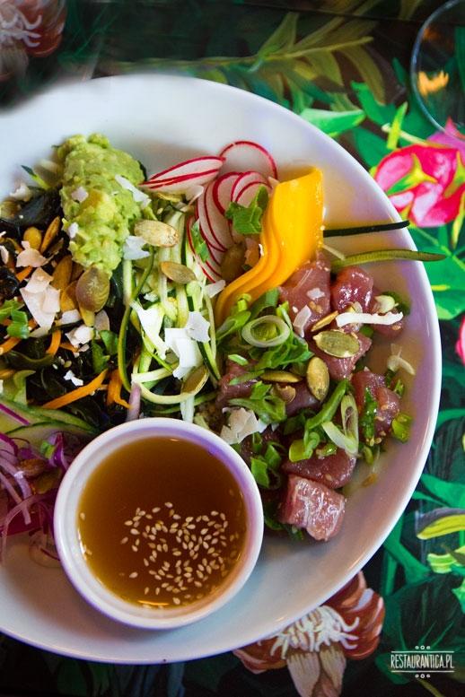 Ahi POke Bowl, Raj w Niebie, kuchnia hawajska