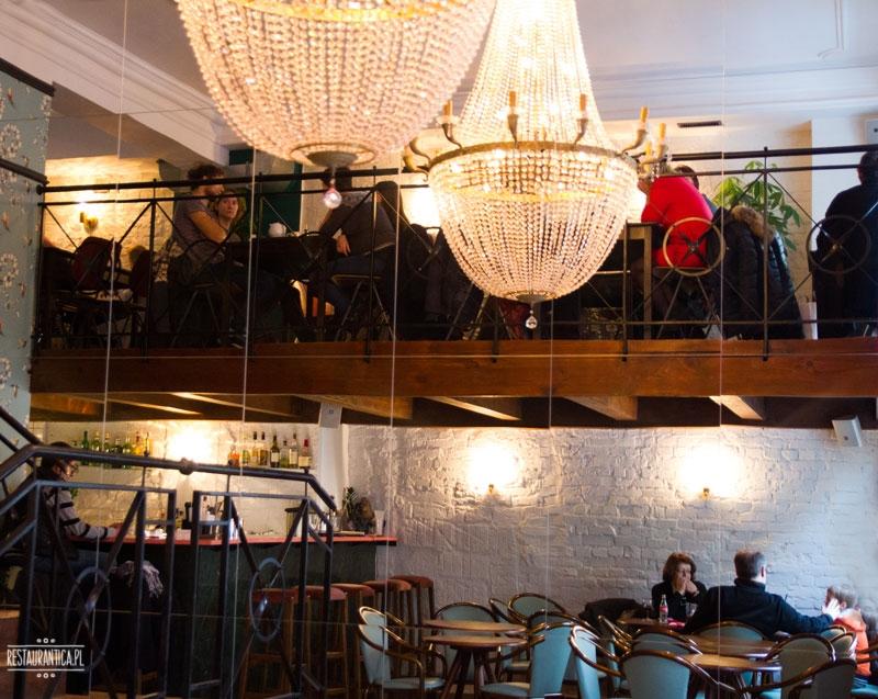 Regina Bar, Koszykowa 1, wnętrze, żyrandol