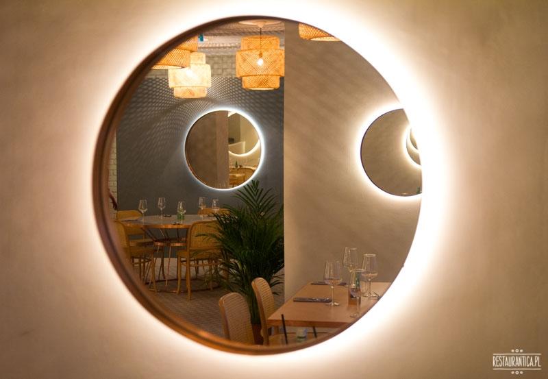 Florentin, lustro, Smolna, wnętrze