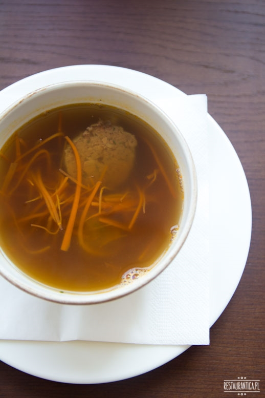 Drukarnia, zupa z ogonów, Mińska 65, restauracja