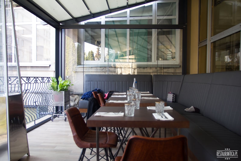 Drukarnia, restauracja, Mińska 65, taras
