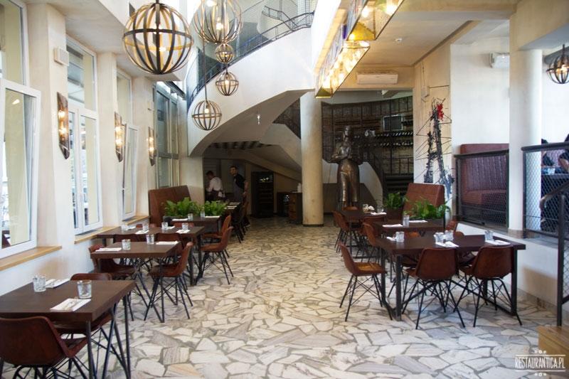 Drukarnia, Mińska 65, restauracja, wnętrze, lampy