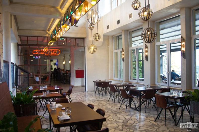 Drukarnia, restauracja, Mińska 65, wnętrze