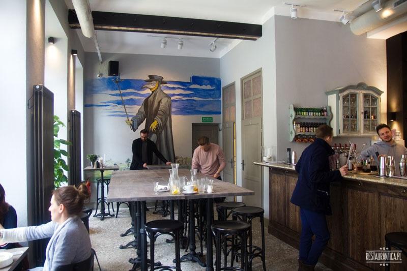 Nowo,Nowogrodzka, restauracja, bar, rysunek