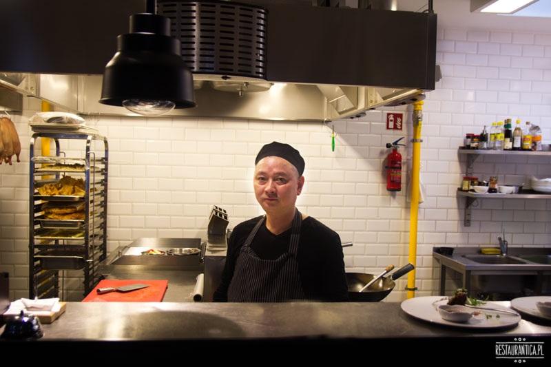 Pańska 85, restauracja chińska, szef kuchni
