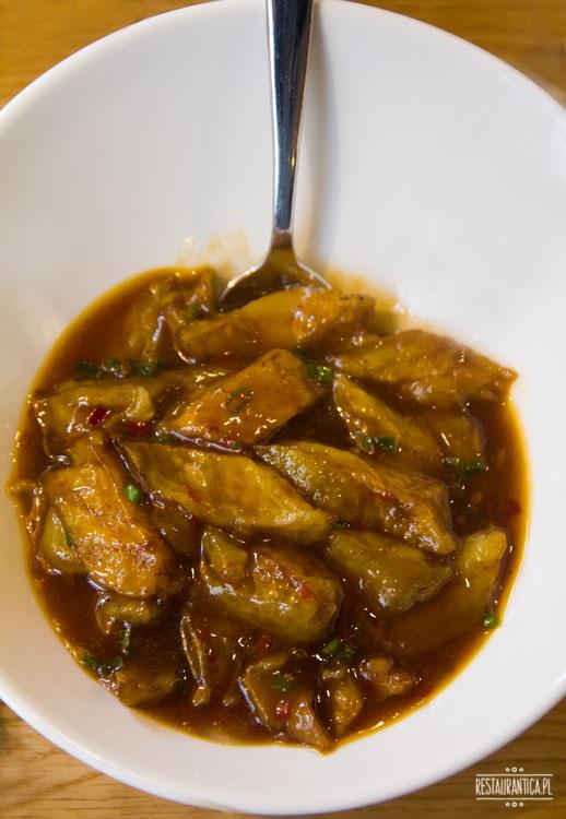 Pańska 85, bakłażan w sosie ostrygowym
