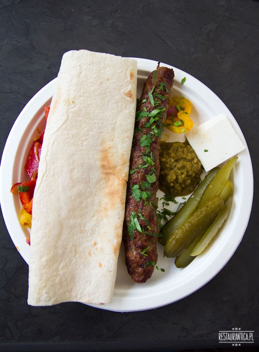 Grill kaukaski kebab