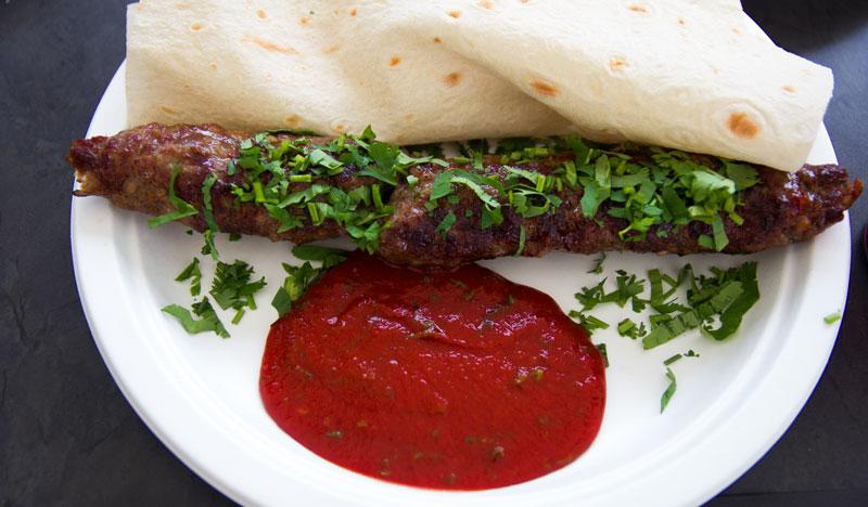 Grill kaukaski lula kebab