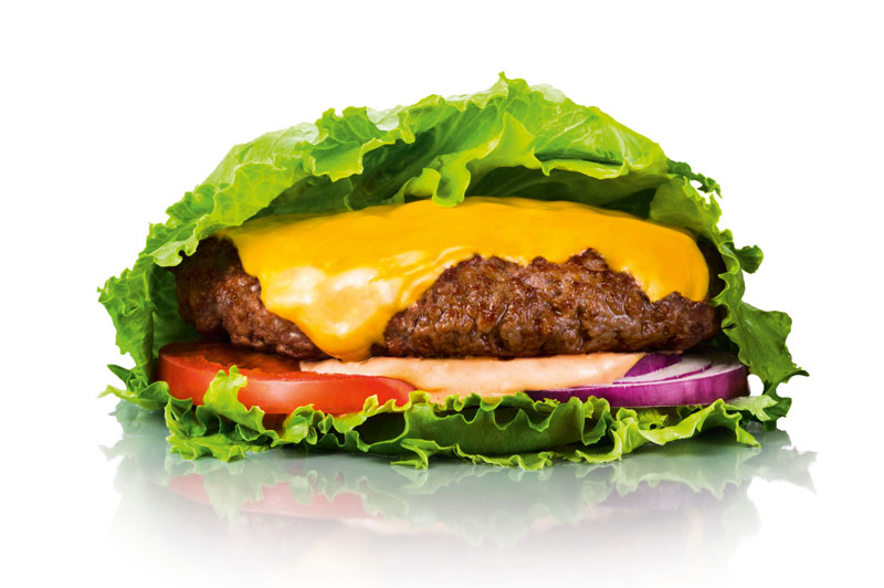 Max Premium Burgers burger w sałacie