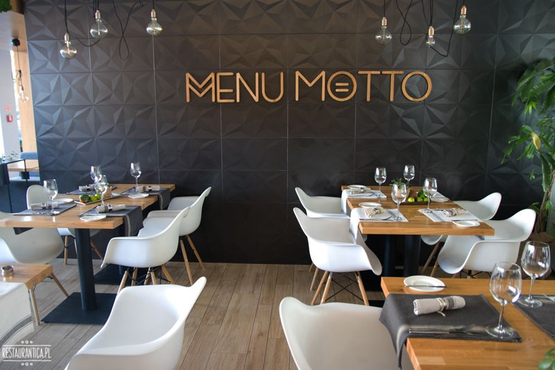 menu motto wnętrze